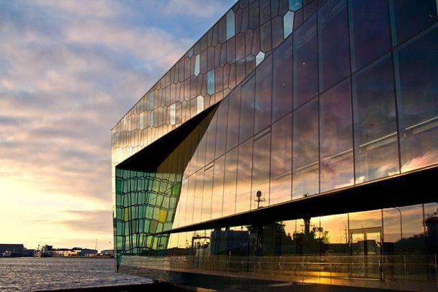 Zdjęcia: Reykjavik,  Harpa Concert Hall., ISLANDIA
