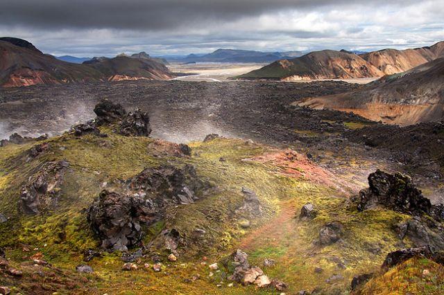 Zdjęcia: Landmannalaugar, Landmannalaugar - Góry Tęczowe., ISLANDIA