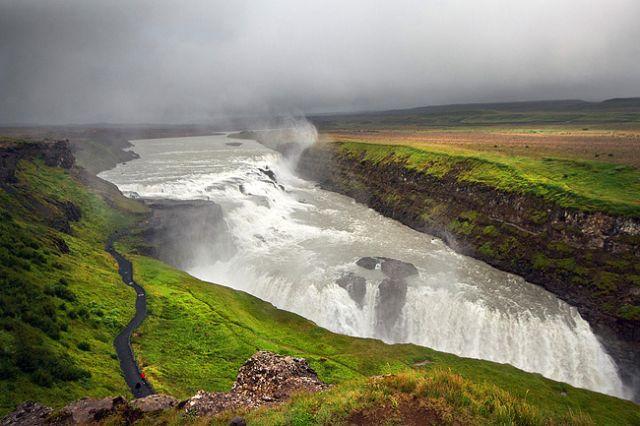Zdjęcia: Islandia, Gullfoss, ISLANDIA