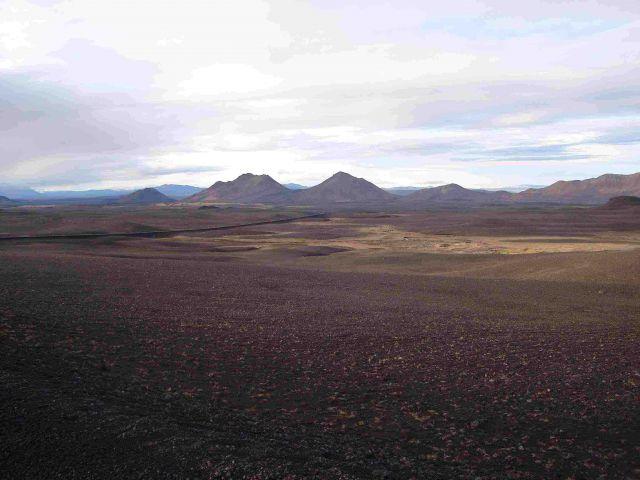 Zdjęcia: islandia polnocna, islandia polnocna, na drodze do myvatn, ISLANDIA