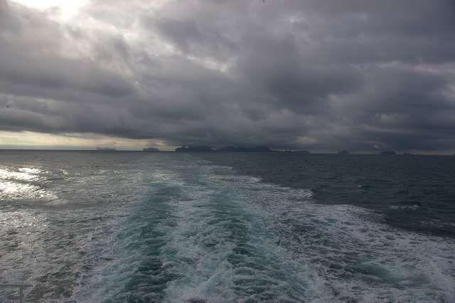 Zdj�cia: Wyspa Heimaey, Wyspy Westman�w, Ci�ar sklepienia niebieskiego, ISLANDIA