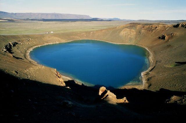 Zdjęcia: Okolice jeziora Myvatn, Krater , ISLANDIA