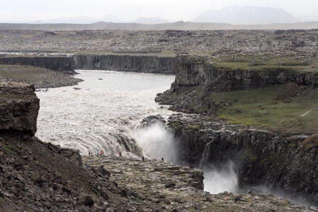 Zdj�cia: Wodospad Dettifoss, Wodospad, ISLANDIA