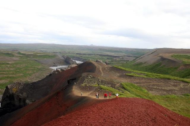 Zdjęcia: Północna Islandia, Czerwona góra, ISLANDIA