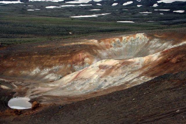 Zdj�cia: P�nocna Islandia, ksi�ycowa abstrakcja, ISLANDIA