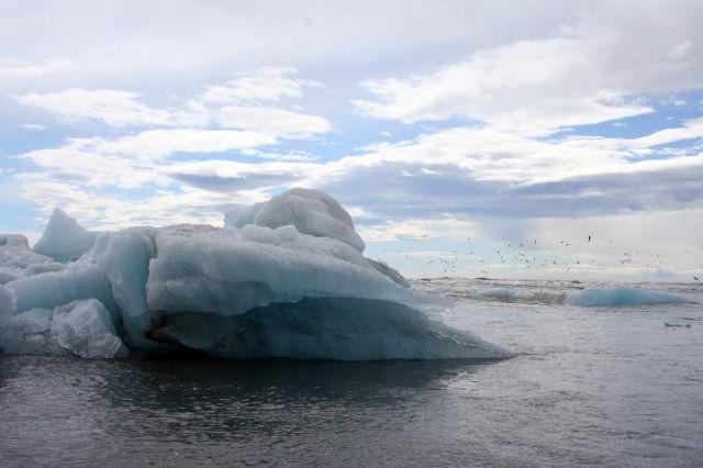 Zdjęcia: Jokursalon, południowa Islandia, góra lodowa, ISLANDIA