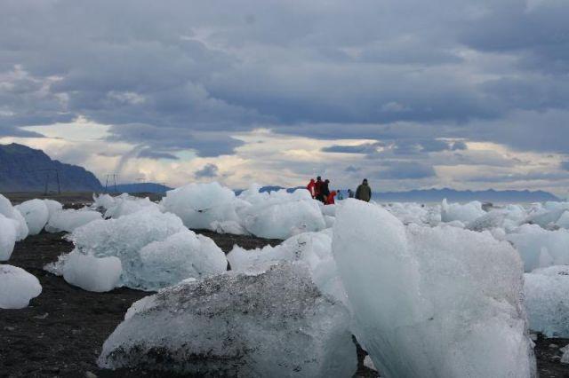 Zdjęcia: Jokursalon, południowa Islandia, kostki lodu, ISLANDIA