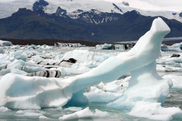 Zdjęcia: Jokursalon, południowa Islandia, lodowe formacje, ISLANDIA