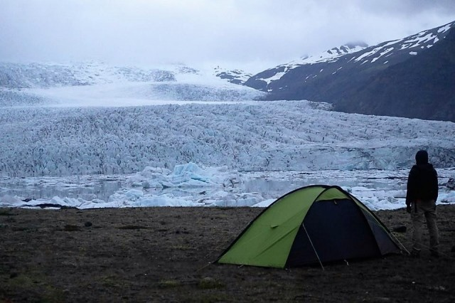 Zdjęcia: Islandia, Islandia, Lodowiec na śniadanie, ISLANDIA