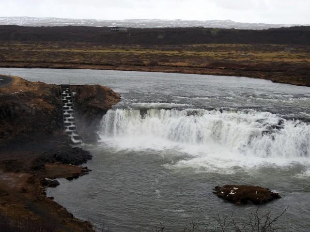 Zdjęcia: Tungufljót, Tungufljót, Wodospad Faxi, ISLANDIA