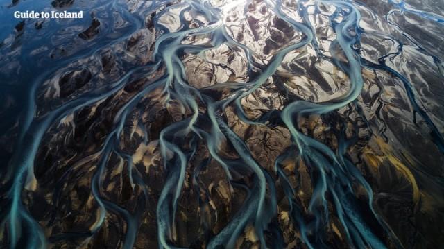 Zdjęcia:  , islandzki interior, Rzeka polodowcowa, ISLANDIA