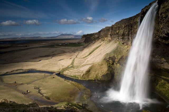 Zdjęcia: Seljakand, Wodospad Gljufurarfoss, ISLANDIA