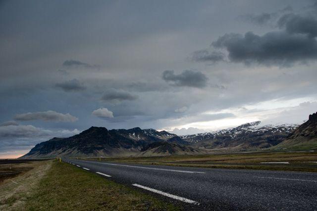 Zdjęcia: W poblizu Skogar, Wieczor nadciaga..., ISLANDIA