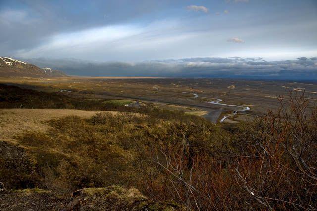 Zdjęcia: Bolti, Panorama na Skeidararsandur, ISLANDIA