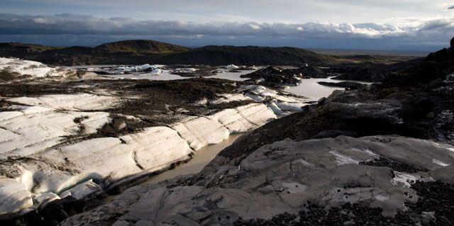 Zdjęcia: Skaftafell, Lodowiec Svinafellsjokull, ISLANDIA