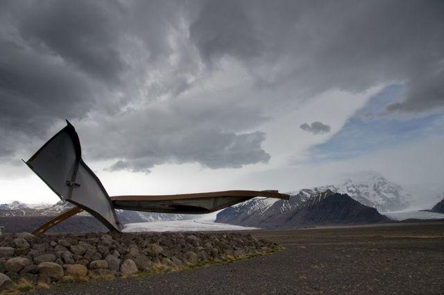 Zdj�cia: Bolti, Pozostalosci po moscie Gigjukvisl, ISLANDIA