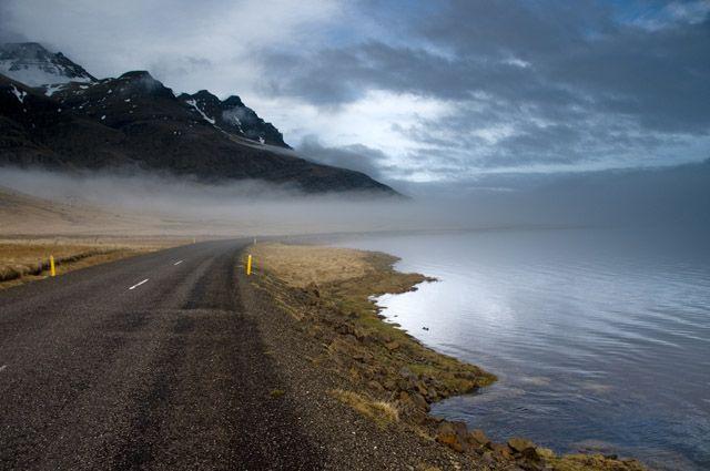 Zdj�cia: Djupivogur, Chmury dookola..., ISLANDIA