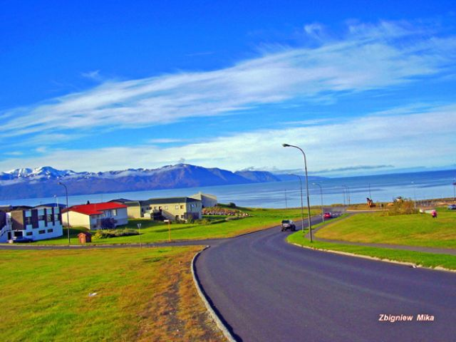 Zdj�cia: Husavik, Polnocna Islandia, Droga do........, ISLANDIA