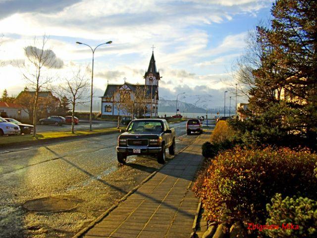 Zdjęcia: Husavik, Polnocna Islandia, Jesien w Husaviku, ISLANDIA
