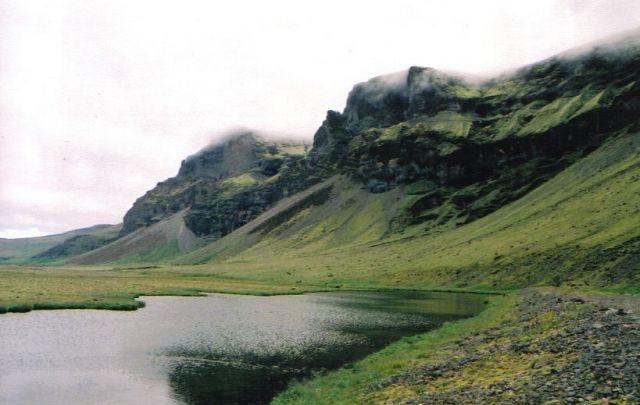 Zdjęcia: nieopodal Skaftafell, mglistość, ISLANDIA