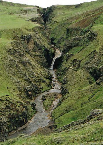 Zdjęcia: okolice Horgsland, rozpadlinka, ISLANDIA
