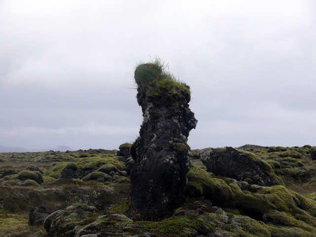 Zdjęcia: Okolice Vik, Południowa Islandia, Skamieniały Trol, ISLANDIA