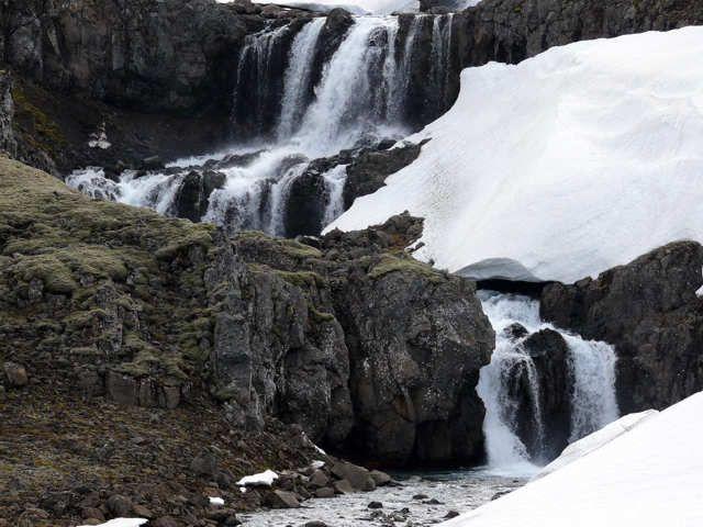 Zdjęcia: Okolice drogi 939, Południowo Wschodnia Islandia, Ukryty wodospad, ISLANDIA