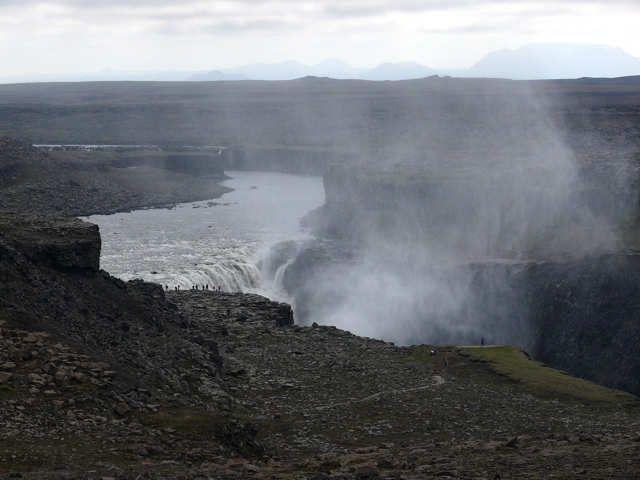 Zdjęcia: Wodospad Dettifoss, Pół. Wschodnia Islandia , Dettifoss, ISLANDIA