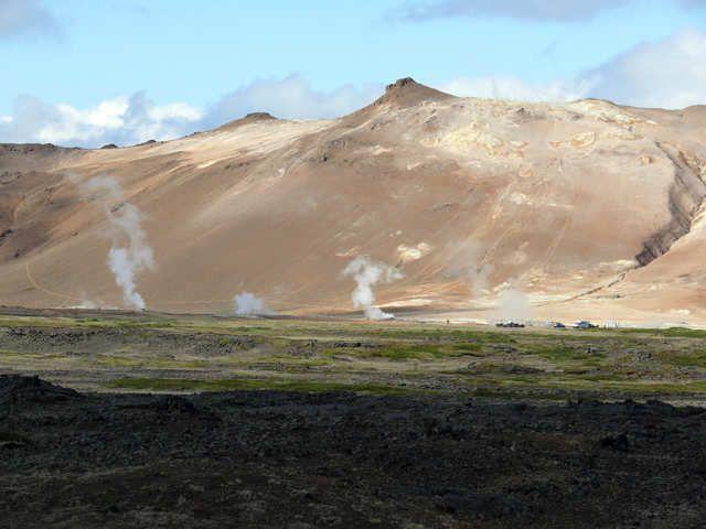 Zdjęcia: Pole Hverarond , Północn Islandia , Zbocze Namafjall, ISLANDIA