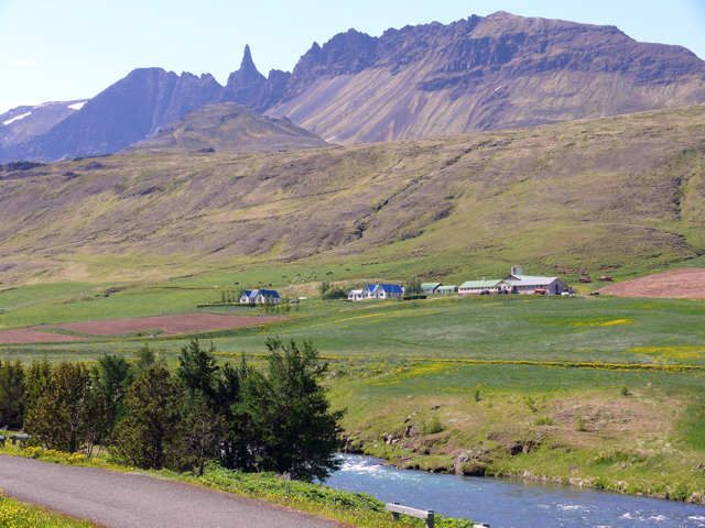 Zdjęcia: Dolina Óxnadalur -okolice Akureyri, Północna Islandia, Dolina Óxnadalur , ISLANDIA