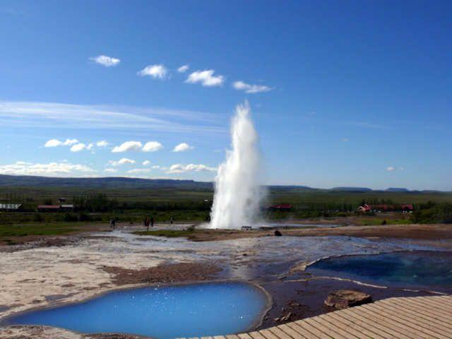 Zdjęcia: Geysir - Strokkur, Południowa Islandia, Strokkur, ISLANDIA