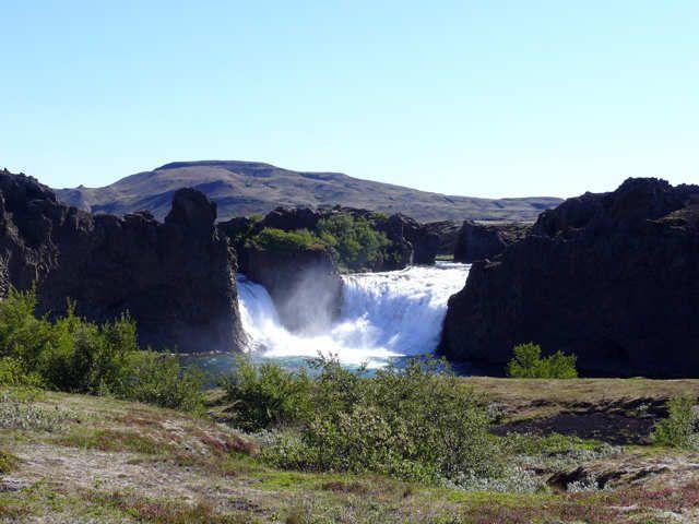 Zdjęcia: Wodospad Tangafoss_, Południowa Islandia,  Tangafoss, ISLANDIA