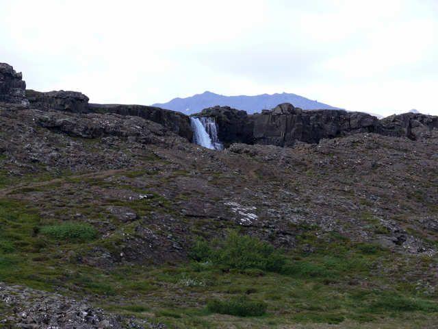 Zdjęcia: Pingvellir - Park Narodowy, Południowa Islandia, Wodospad skazańców, ISLANDIA
