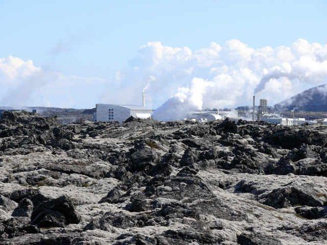 Zdjęcia: Okolice Grindavik, Pd. Zach. Islandia, Kompleks Blue Lagoon , ISLANDIA