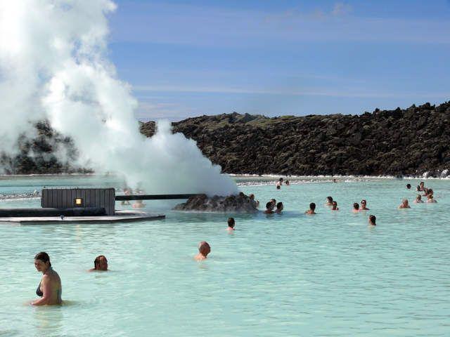 Zdj�cia: Okolice Grindavik, Pd. Zach. Islandia, Blue Lagoon, ISLANDIA