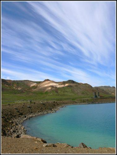Zdjęcia: Krater Graenavatn, Reykjanes, Wygasly krater, ISLANDIA