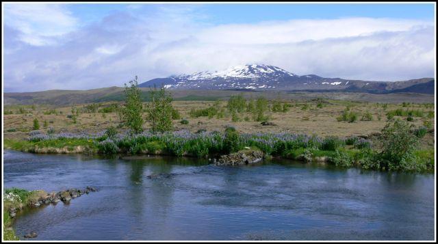 Zdjęcia: Islandia poludiowo zachodnia, Islandia poludiowo zachodnia, Hekla w kapturze, ISLANDIA