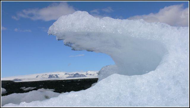 Zdjęcia: Laguna lodowcowa Jokulsarlon, Islandia poludiowa, Rzezba w lodzie, ISLANDIA