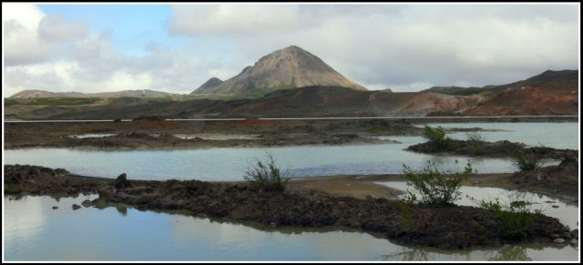 Zdjęcia: W regionie Myvatn, Islandia polnocna, Wolkan Krafla, ISLANDIA