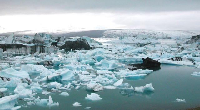 Zdj�cia: Jezioro J�kuls�rl�n , Lodowiec Vatnajokull, Kraina lodu, ISLANDIA