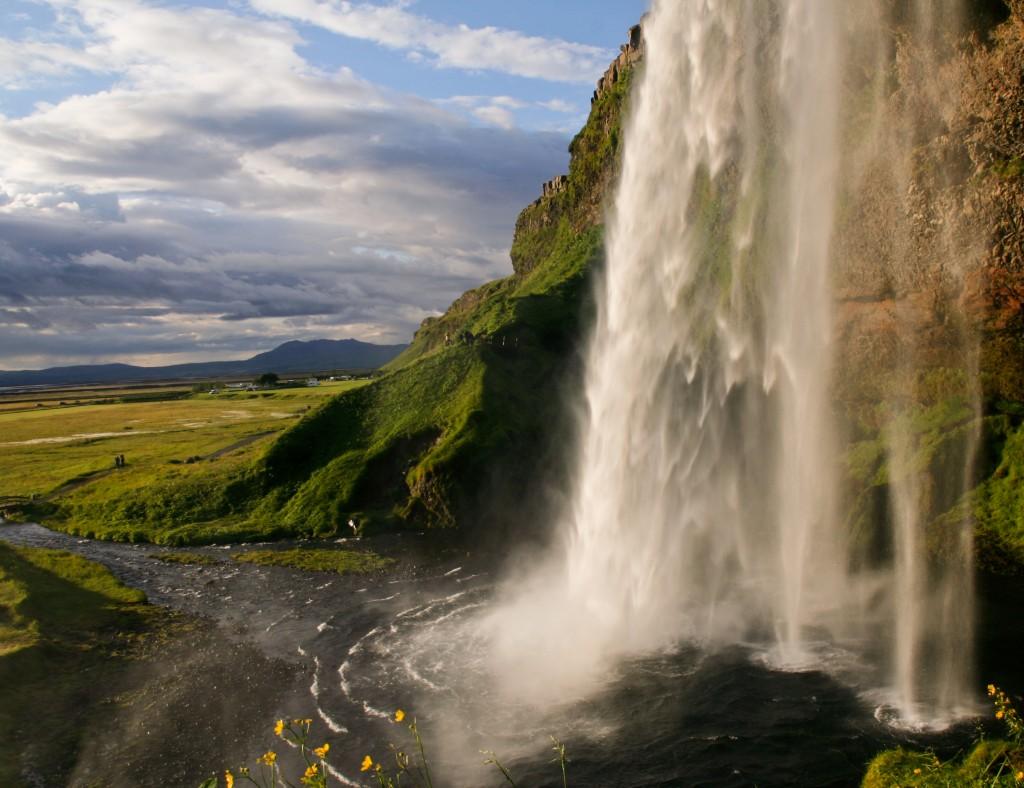 Zdjęcia: Wodospad Seljalandsfoss, Poludniowa Islandia, Seljalandsfoss, ISLANDIA