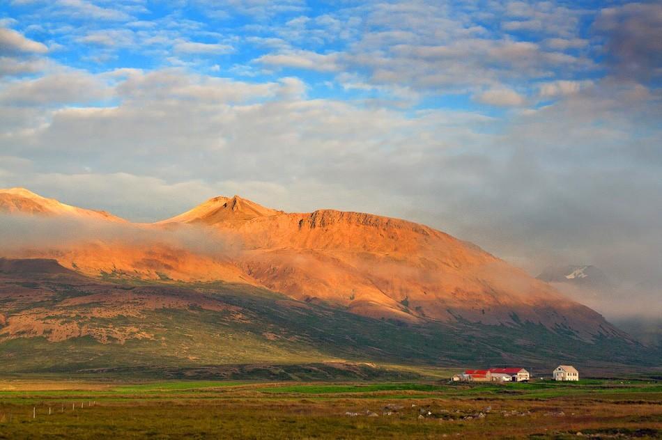 Zdjęcia: północ Islandii, Skagafjörður-Sysla, Farma na północy Islandii, ISLANDIA