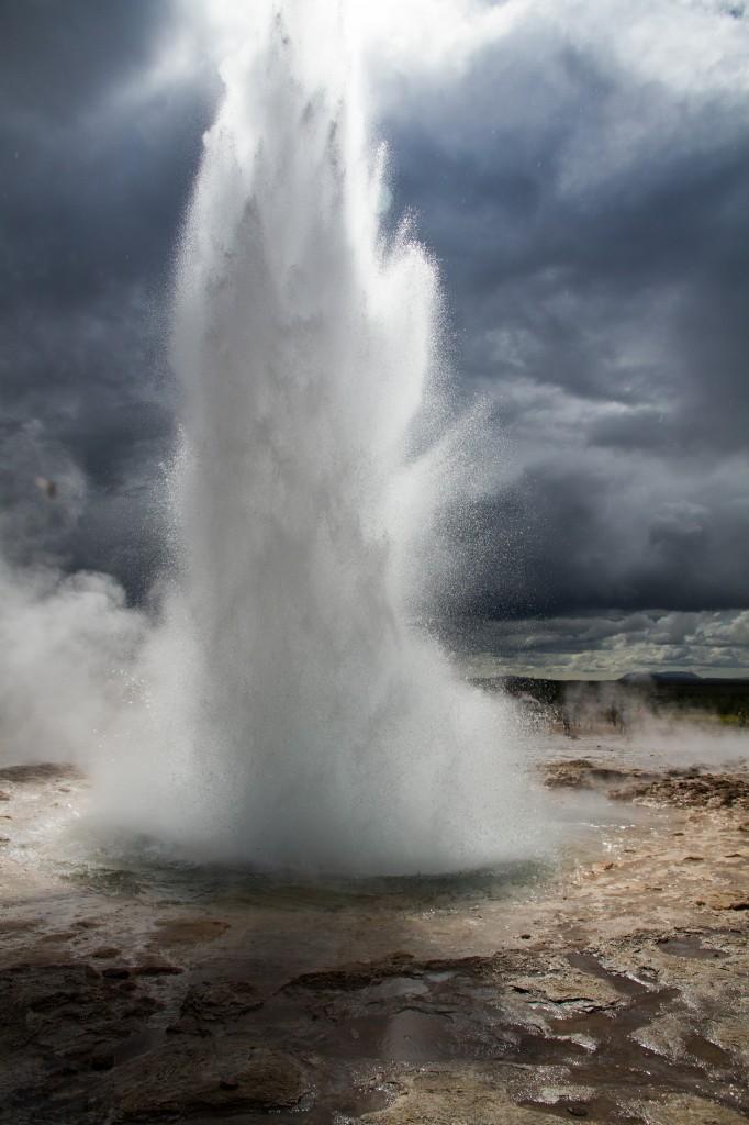 Zdjęcia: Islandia poł€dniowa, Islandia południowa, Strokkur, ISLANDIA