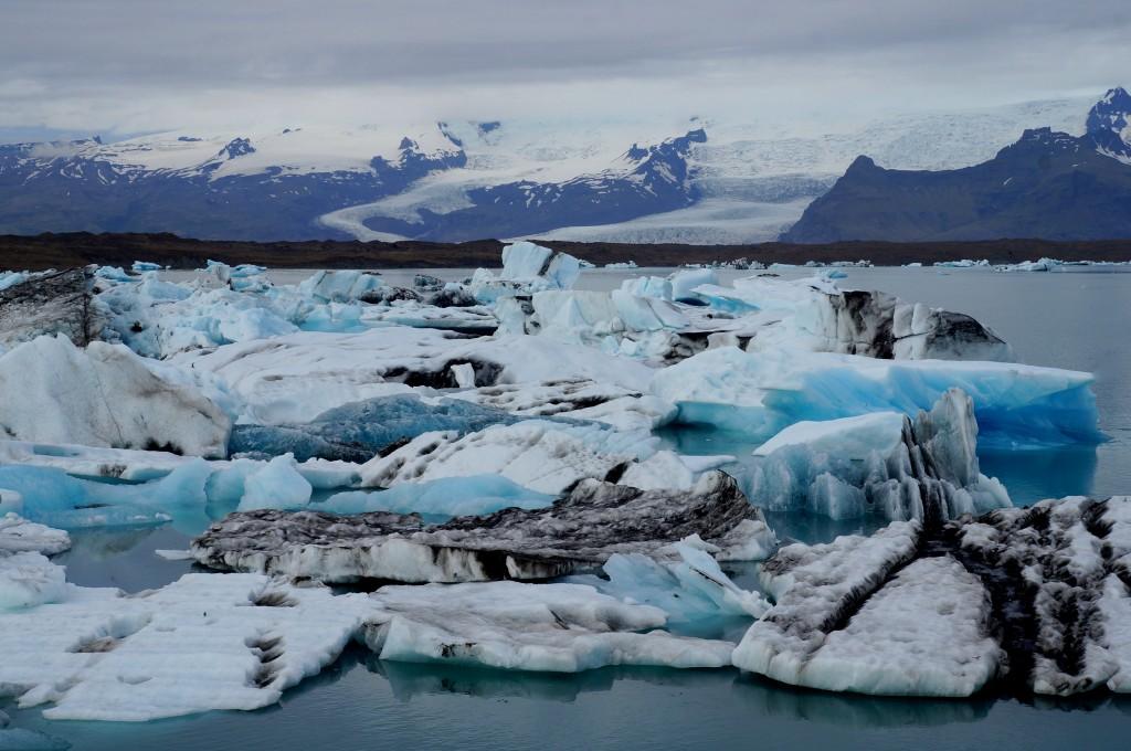 Zdjęcia: park narodowey Vatnajökull, płd  Islandia, jezioro Jökulsárlón, ISLANDIA