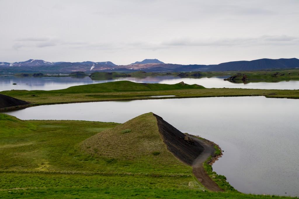 Zdjęcia: okolice jez. Myvatn, islandia północna, Panorama, ISLANDIA