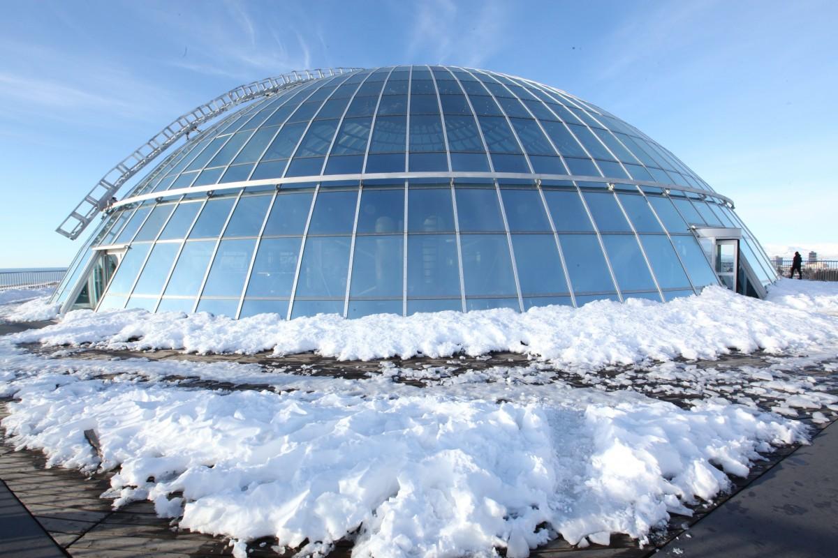 Zdjęcia: Perlan, Reykjavik, Dach, ISLANDIA
