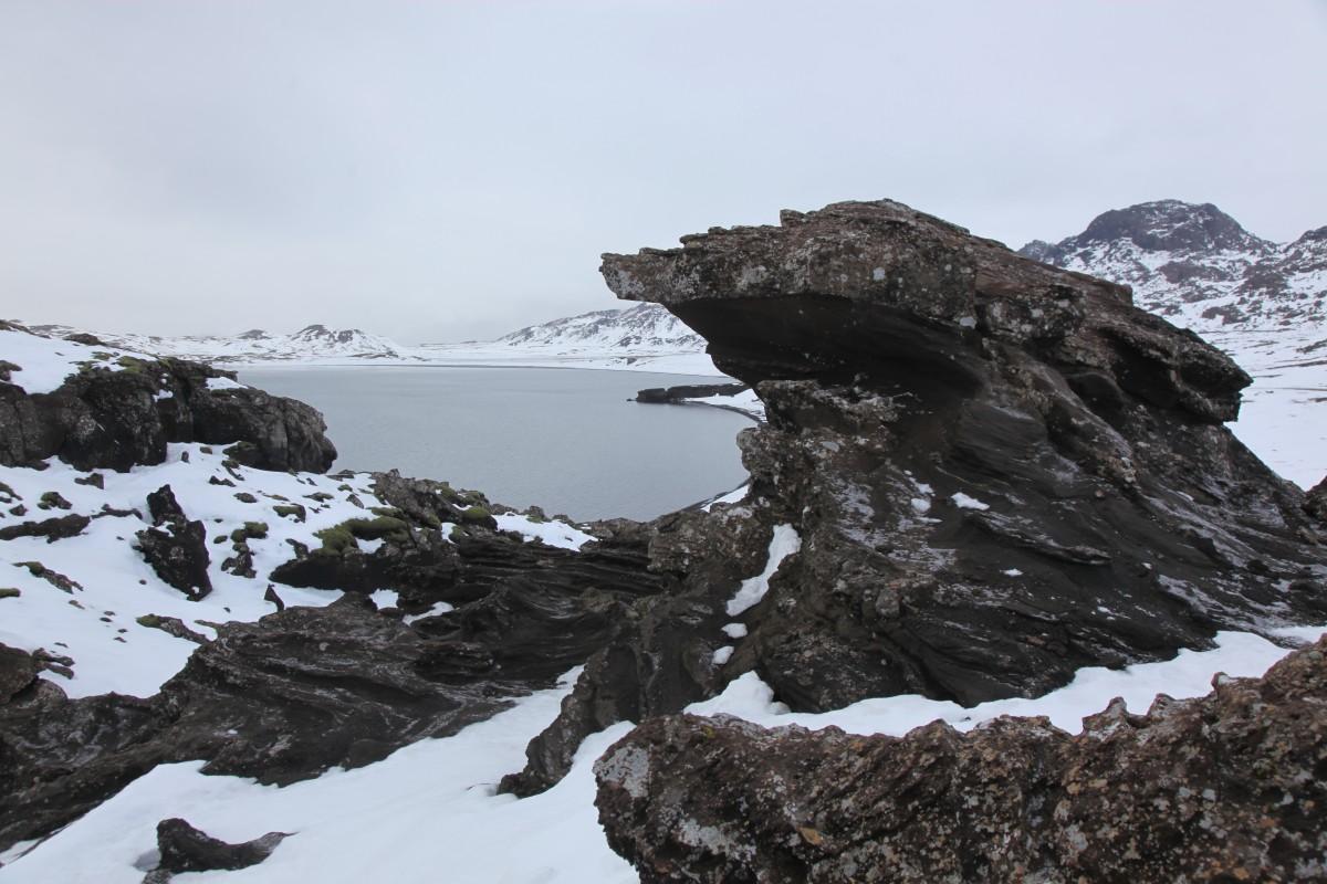Zdjęcia: Jezioro Kleifarvatn, Reykjavik, Skały wulkaniczne, ISLANDIA