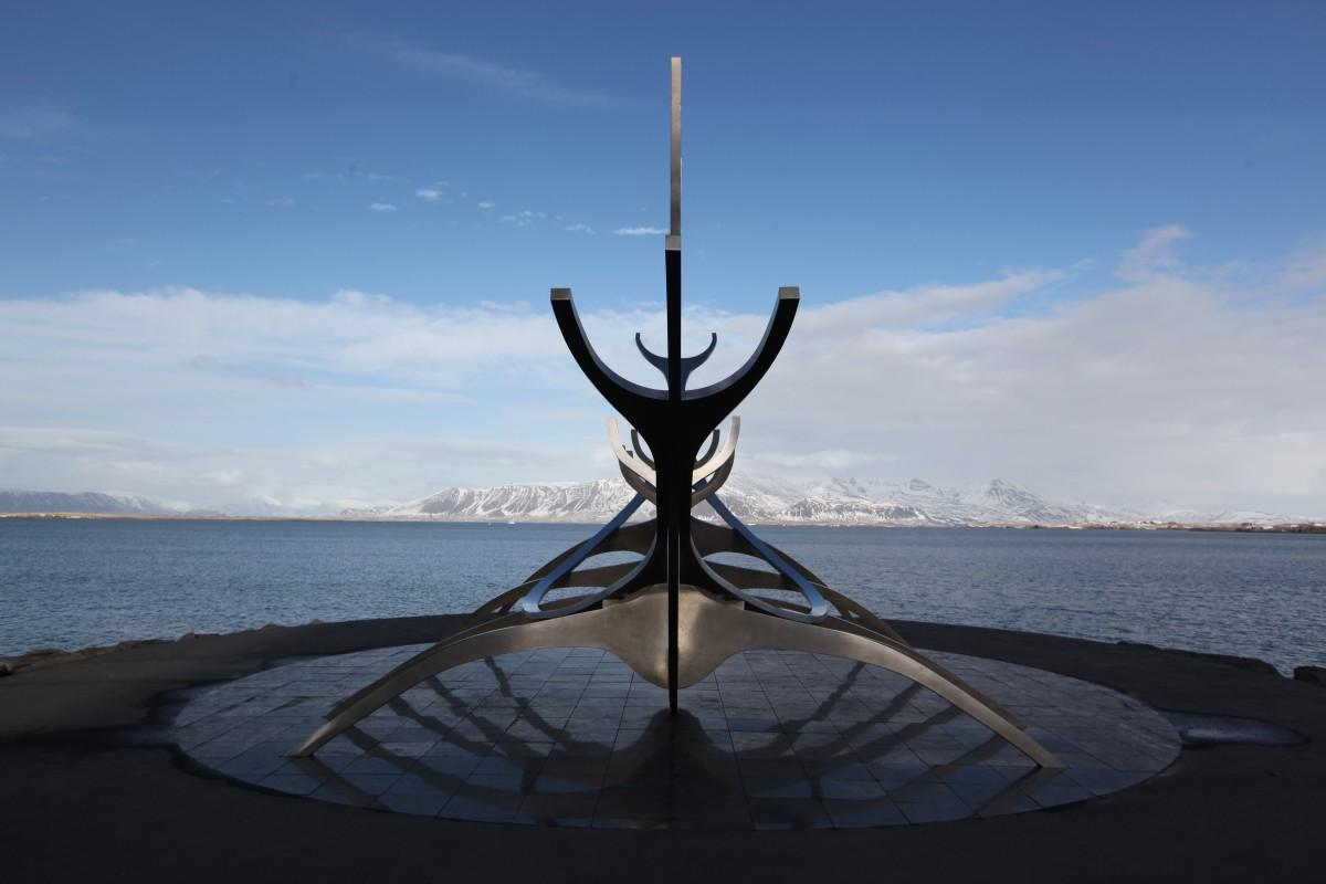 Zdjęcia: Downtown, Reykjavik, Słoneczny Podróżnik, ISLANDIA