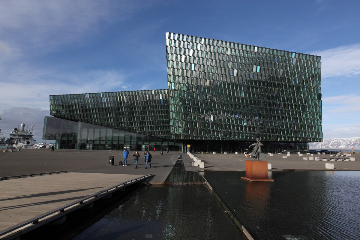 Zdjęcia: Port, Reykjavik, Harpa - Concert Hall, ISLANDIA