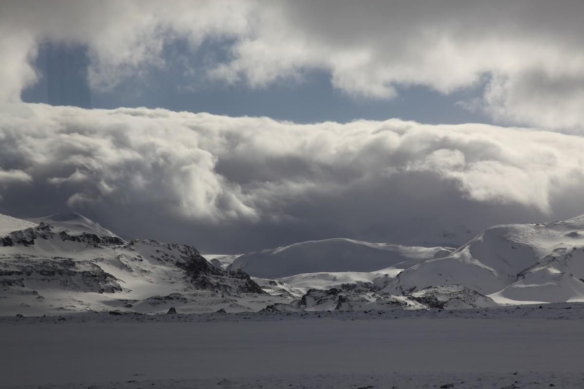 Zdjęcia: ., Reykjavik, W drodze na lodowiec Langjokull , ISLANDIA